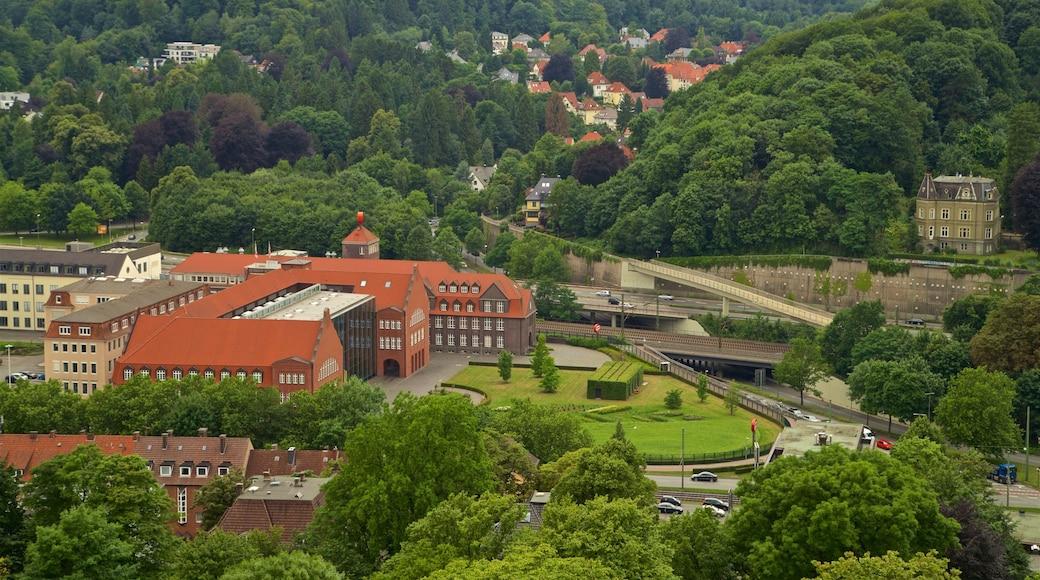 Sparrenburg das einen Landschaften und Kleinstadt oder Dorf