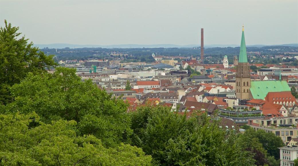 Sparrenburg welches beinhaltet Landschaften und Stadt