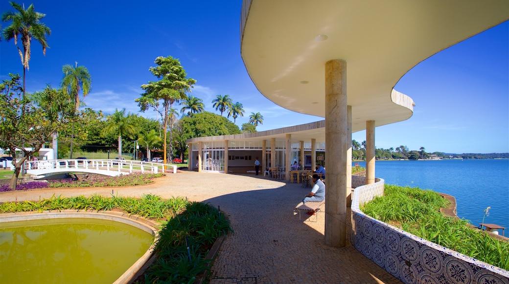 Casa do Baile featuring general coastal views, a pond and a park