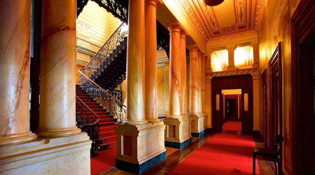 Museu das Minas e do Metal que inclui vistas internas e elementos de patrimônio