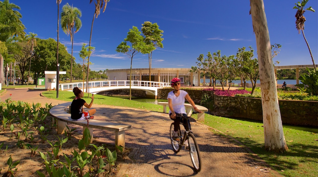 Casa do Baile featuring a park and cycling as well as an individual femail
