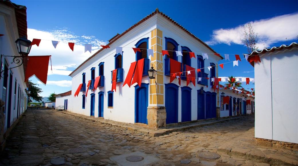 Casa da Cultura de Paraty das einen Kleinstadt oder Dorf