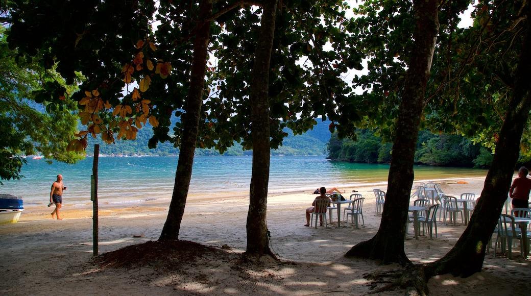 Praia da Crena das einen Strand, allgemeine Küstenansicht und tropische Szenerien