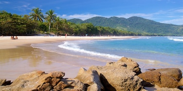 Lopes Mendes Beach featuring general coastal views, tropical scenes and a sandy beach