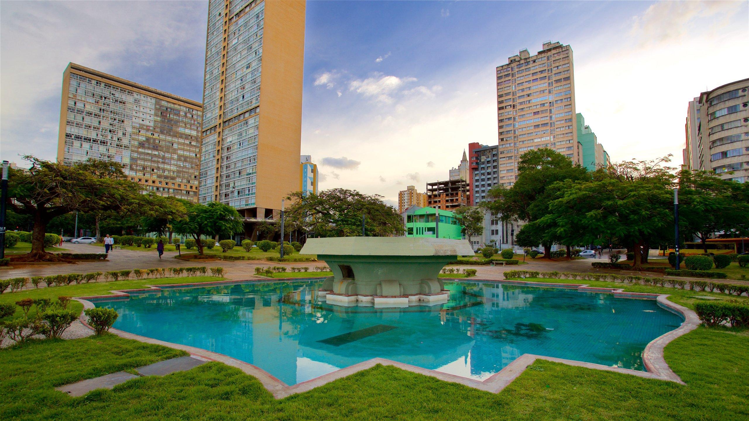 Raul Soares Square, Belo Horizonte, Minas Gerais State, Brazil
