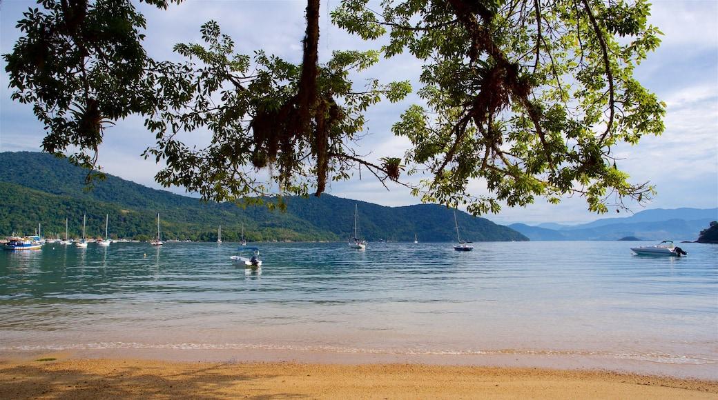 Strand von Japariz welches beinhaltet Strand, Bucht oder Hafen und allgemeine Küstenansicht