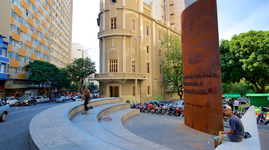 Museum Inima Paula featuring a city, heritage architecture and central business district