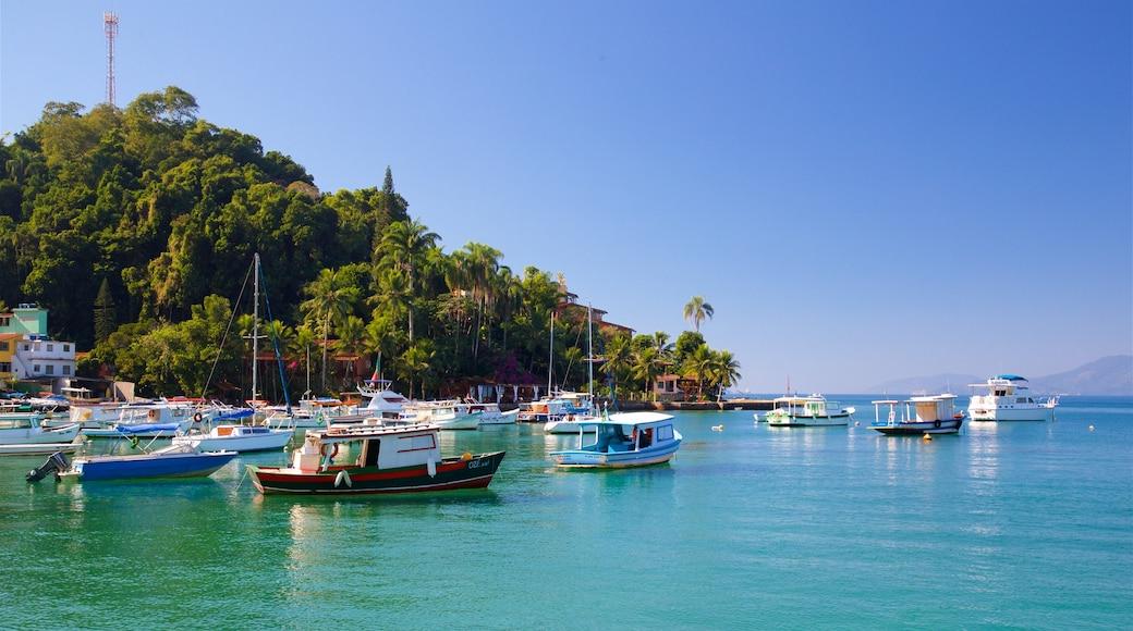 Strand von Bonfim mit einem Bucht oder Hafen und tropische Szenerien