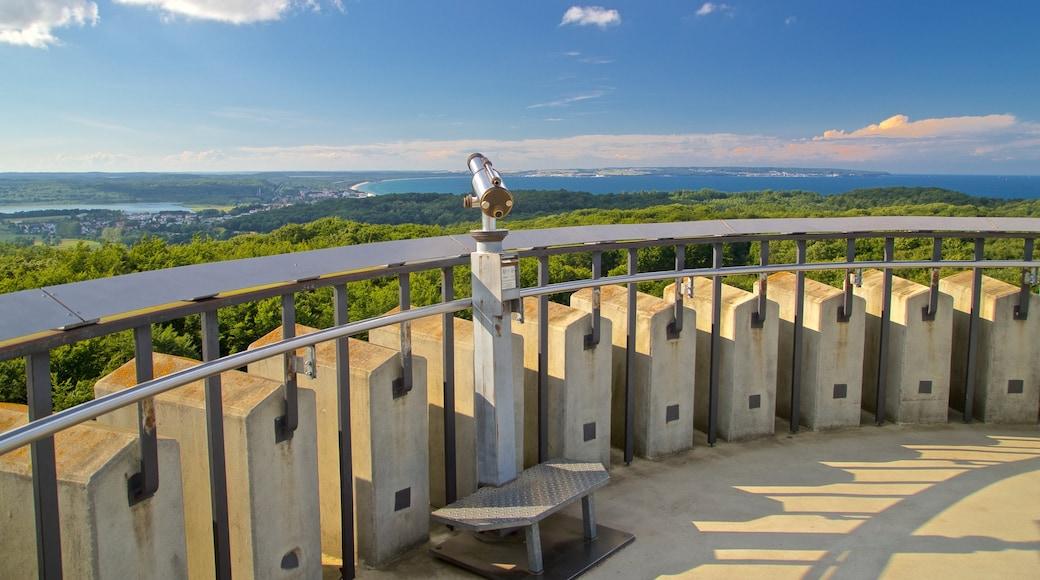 Granitz Hunting Lodge showing views and landscape views