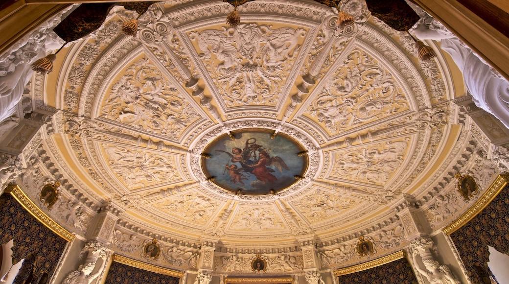Schwerinin linna johon kuuluu perintökohteet, sisäkuvat ja taide