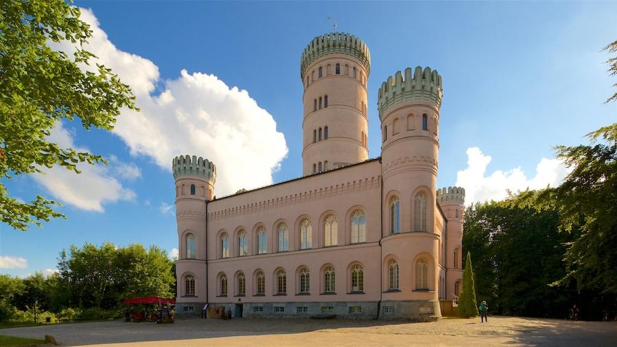 Jagdschloss Granitz mit einem historische Architektur