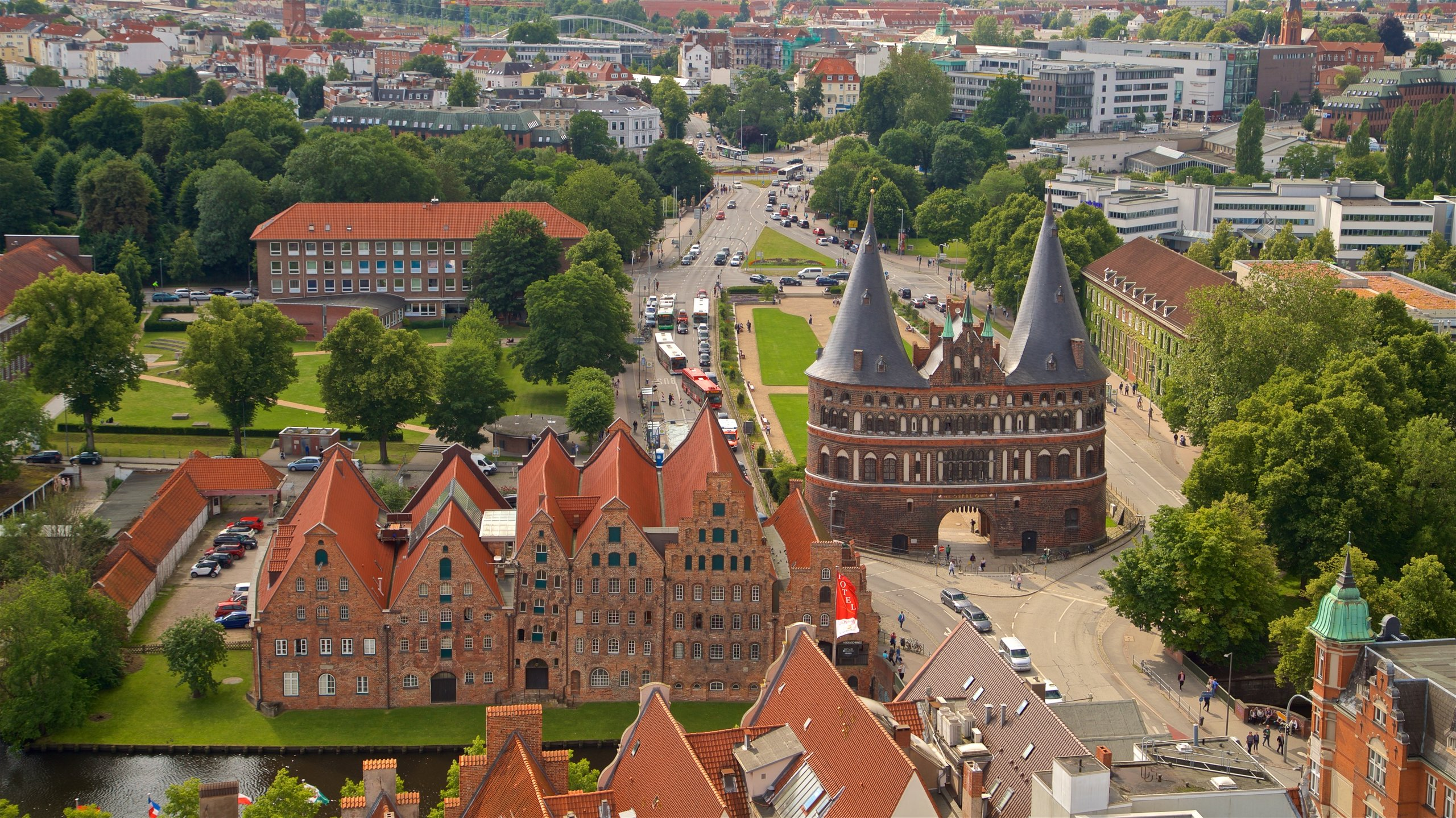 Luebeck Old Town, Lubeck, Schleswig-Holstein, Germany
