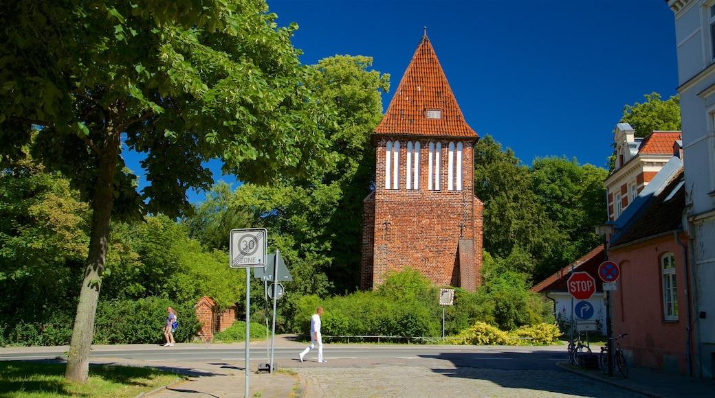 Alter Wasserturm das einen Geschichtliches