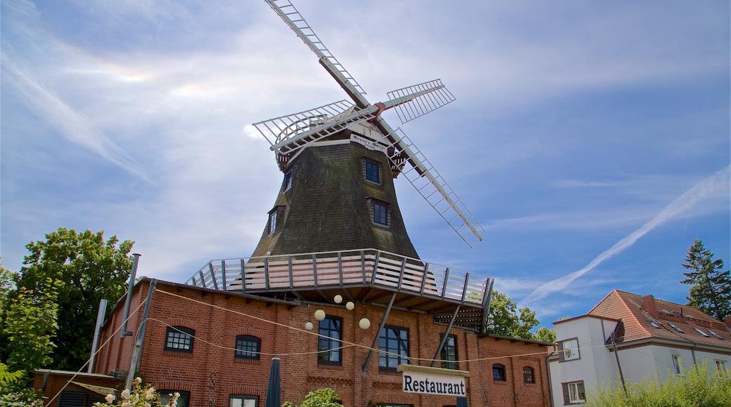 Meyers Mühle mit einem Windmühle und historische Architektur
