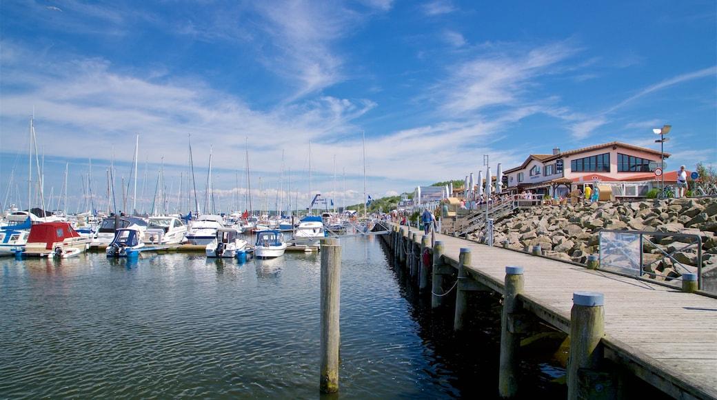 Yachthafen von Kühlungsborn welches beinhaltet Bucht oder Hafen