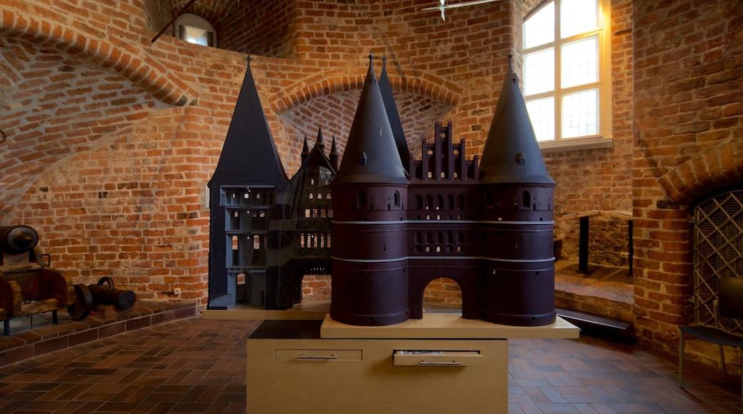 Museum Holstentor das einen Geschichtliches und Innenansichten