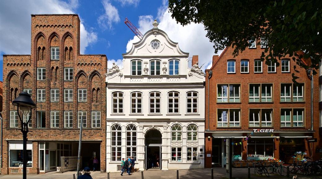 Buddenbrooks House featuring heritage elements