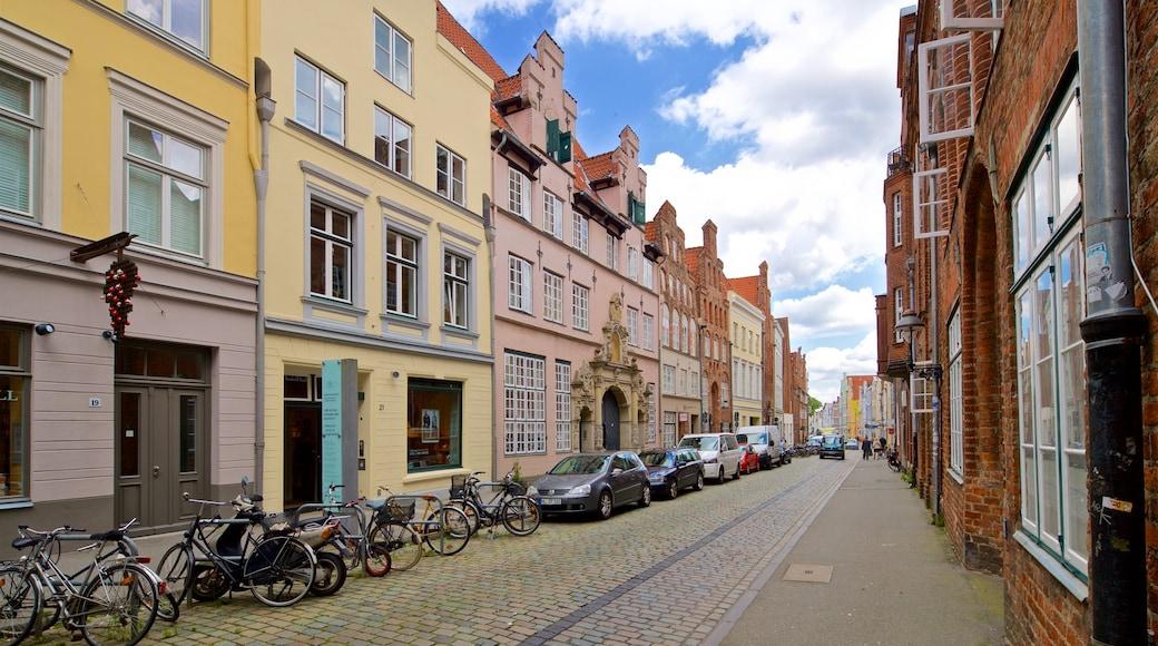 Willy Brandt House mit einem Stadt
