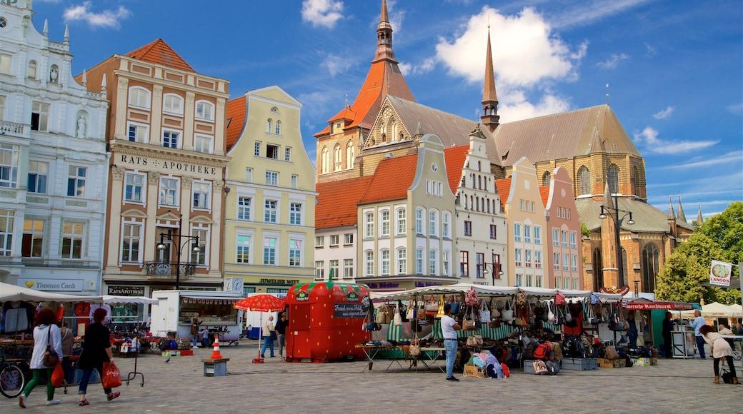 New Market montrant ville