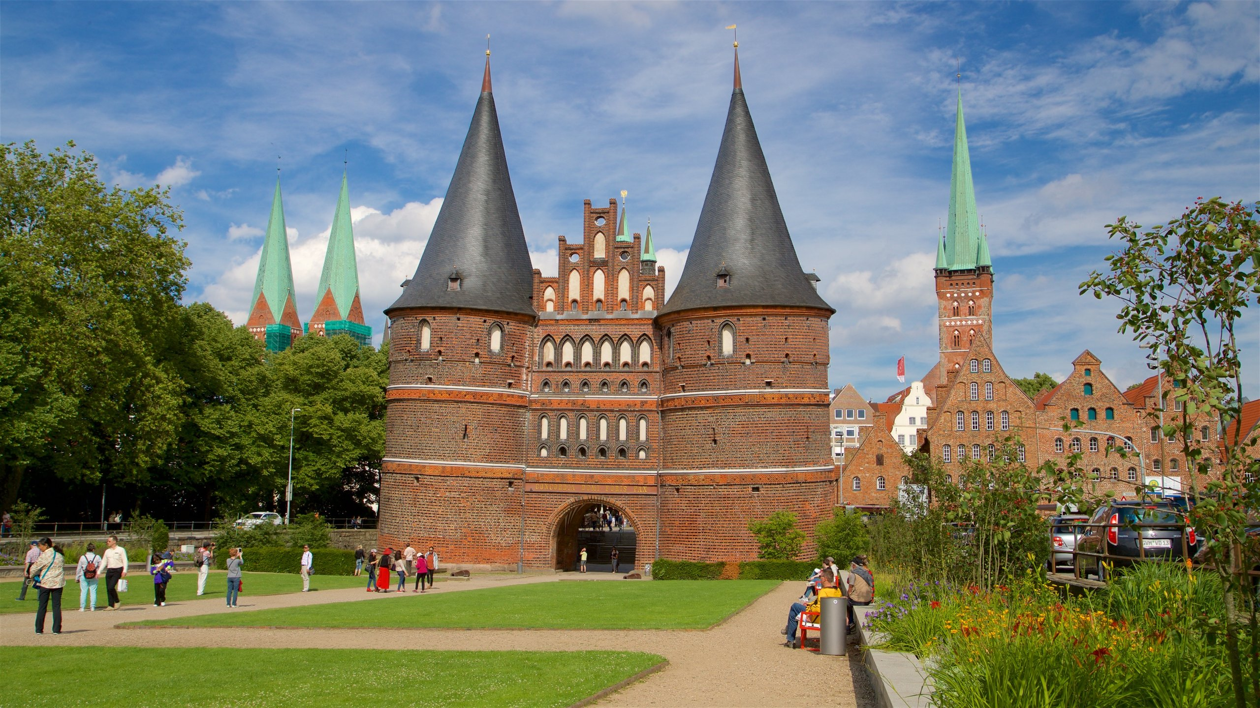 Once Luebeck's first line of defense against attackers, this landmark is now famous for its distinctive architecture and local history museum.
