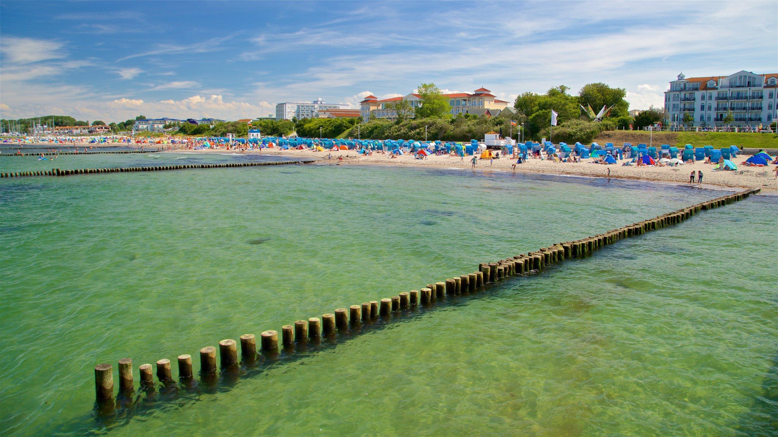 Kuehlungsborn Beach, Kuehlungsborn, Mecklenburg-West Pomerania, Germany