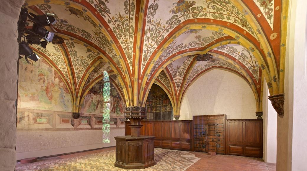 European Hansemuseum featuring interior views and heritage elements