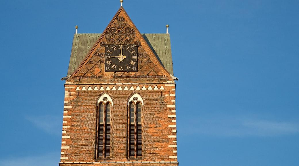 St-Marien-Kirche Steeple mit einem historische Architektur
