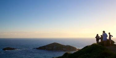 Panorama Atalaia qui includes vues littorales, coucher de soleil et panoramas