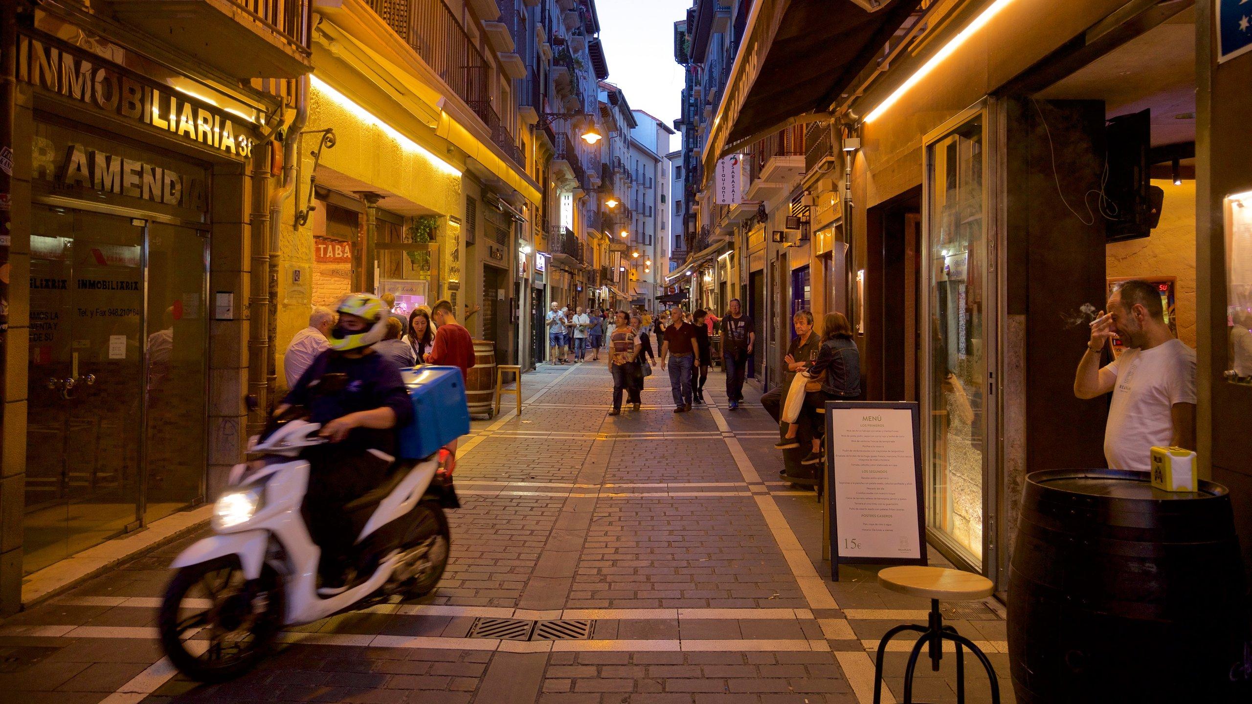 Old Town Pamplona, Pamplona, Navarre, Spain