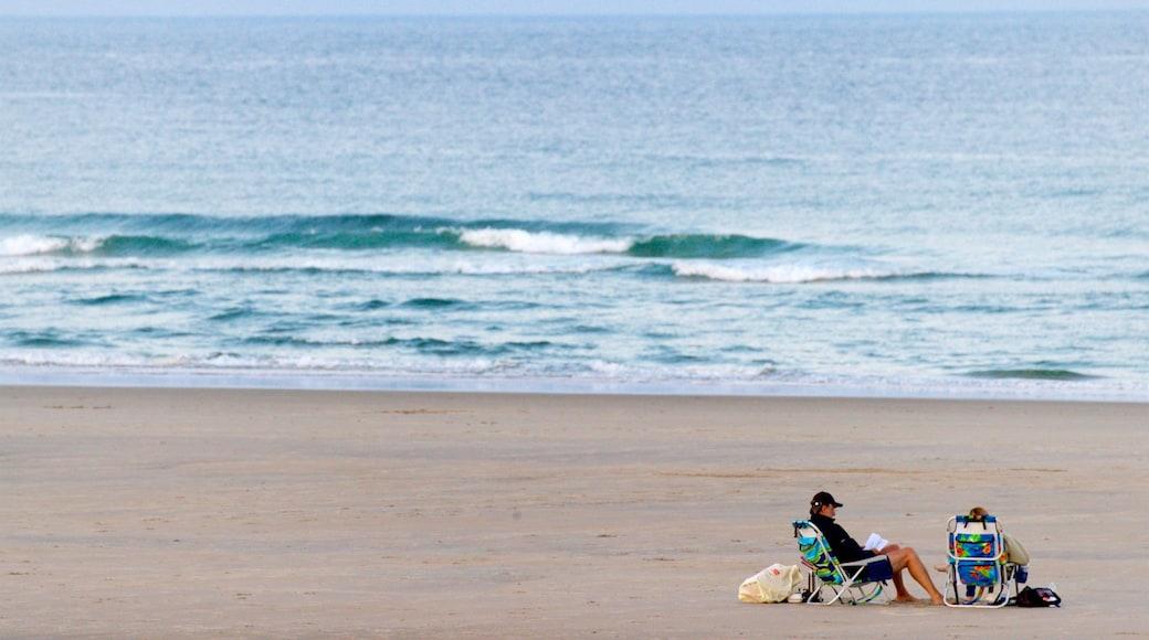 Ogunquit Beach featuring a beach and general coastal views as well as a couple