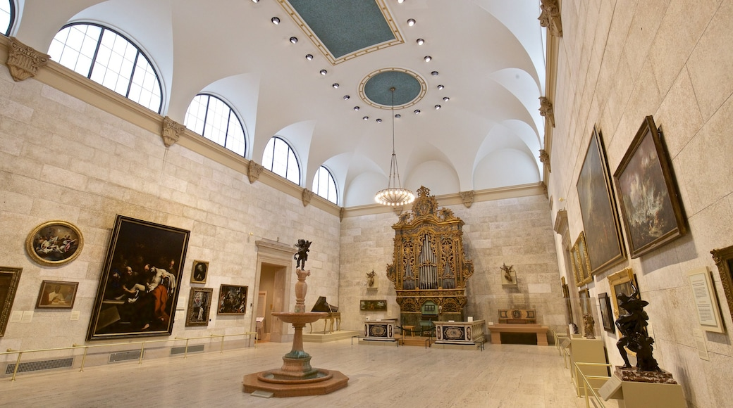 Memorial Art Gallery which includes art, heritage elements and interior views