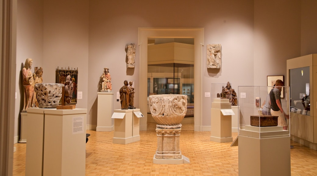 Memorial Art Gallery featuring religious aspects, heritage elements and interior views