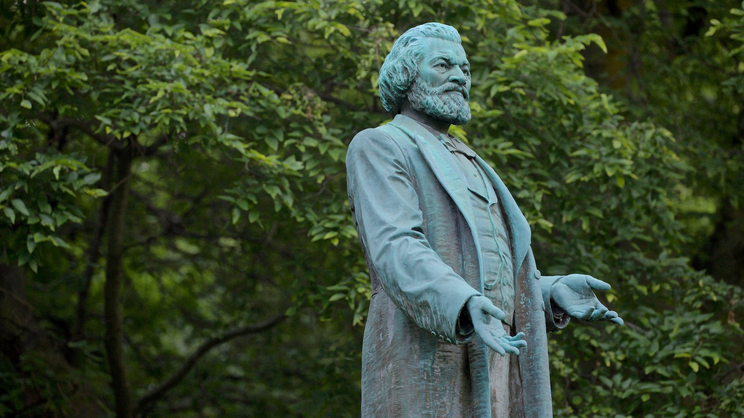 Frederick Douglass Statue, Rochester, New York, United States of America