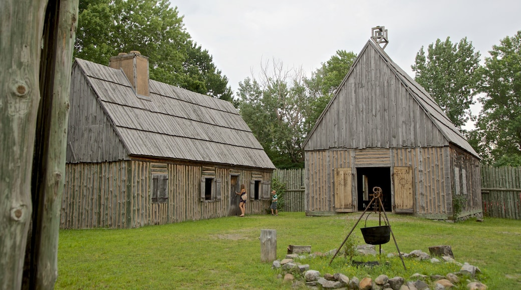 Sainte Marie among the Iroquois which includes heritage elements