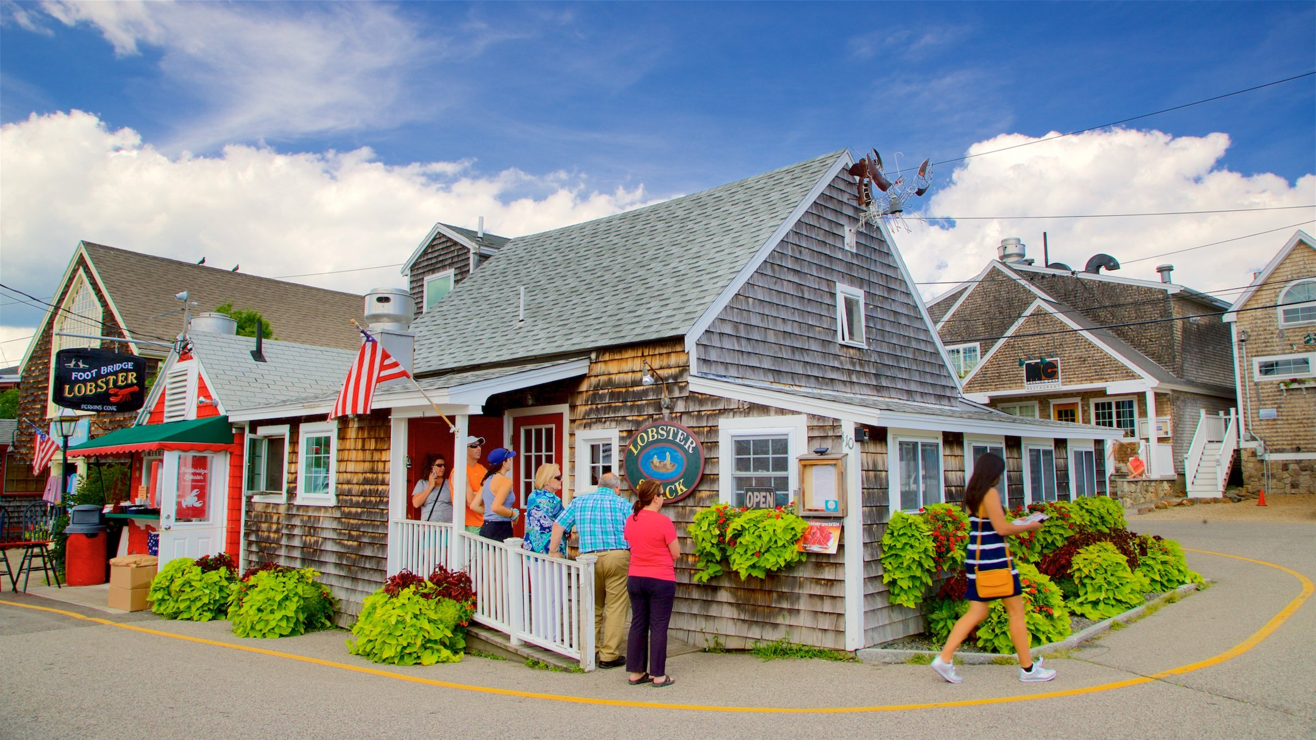 Perkins Cove, Ogunquit, Maine, United States of America
