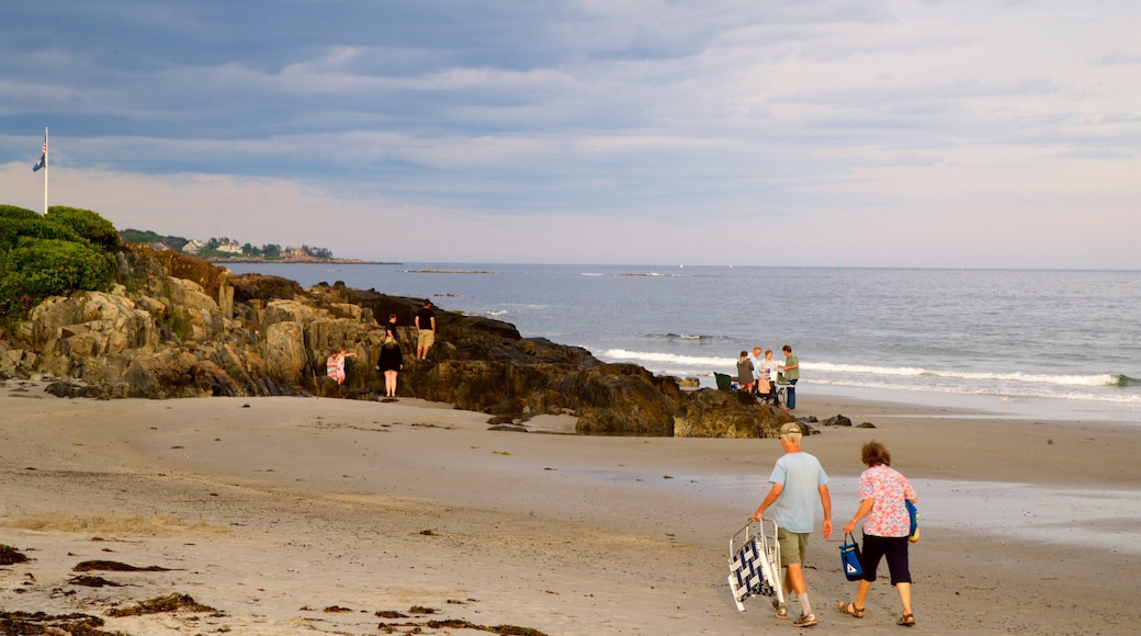 Mother\'s Beach featuring a beach, rocky coastline and general coastal views