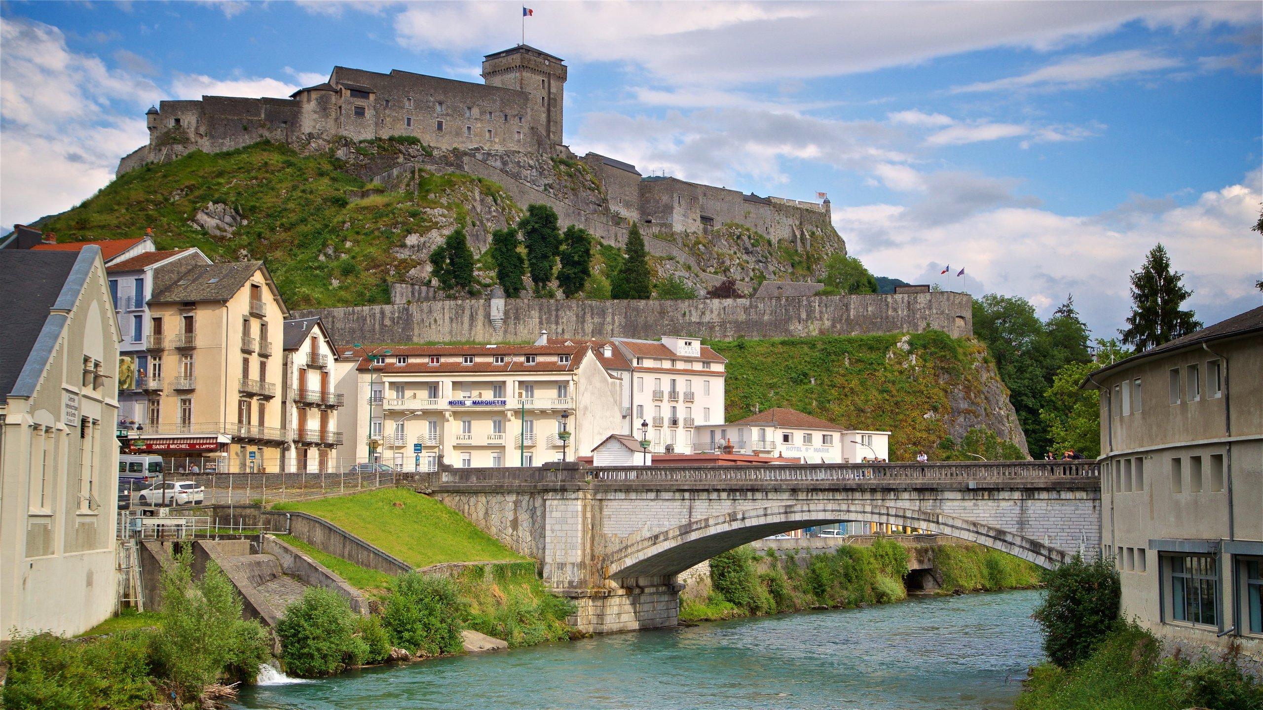 Château Fort Musée Pyrénéen, Lourdes, Hautes-Pyrénées, Frankrijk