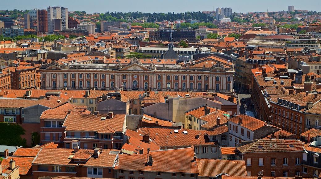 Couvent des Jacobins de Toulouse mettant en vedette panoramas et ville