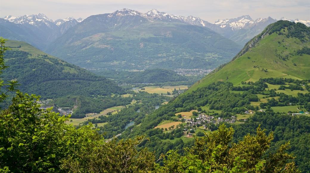Pic du Jer das einen Landschaften, Berge und ruhige Szenerie