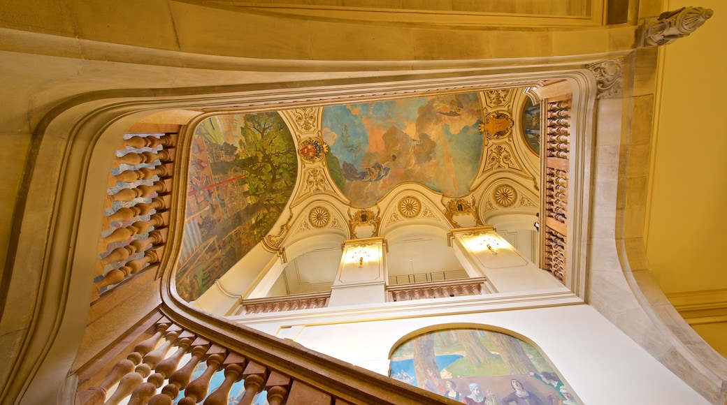 Capitole de Toulouse mettant en vedette art et vues intérieures