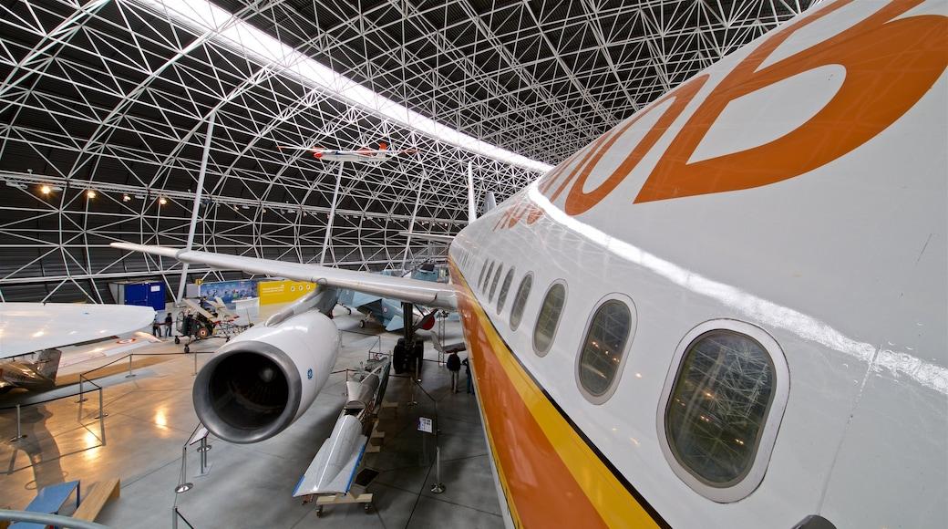 Airbus qui includes vues intérieures et avion