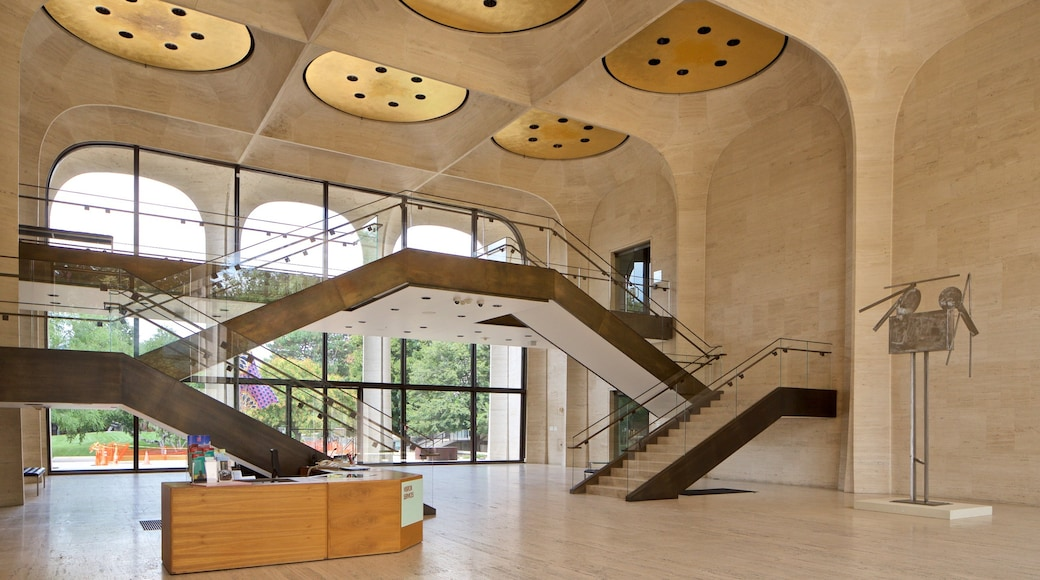 Sheldon Museum of Art which includes interior views