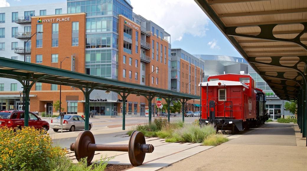 林肯 设有 鐵路收藏品 和 城市