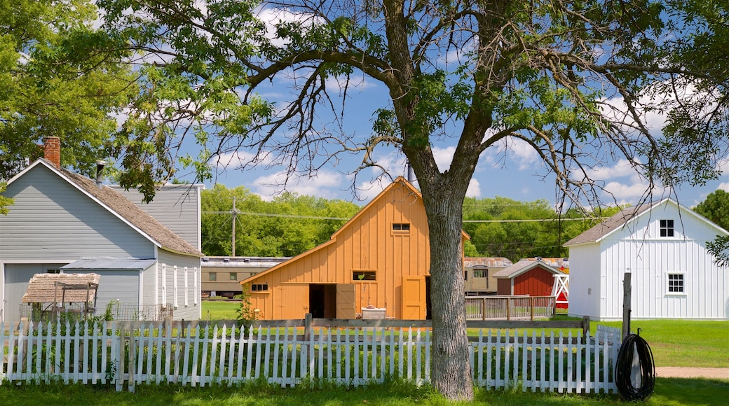 Stuhr Museum of the Prairie Pioneer which includes a house