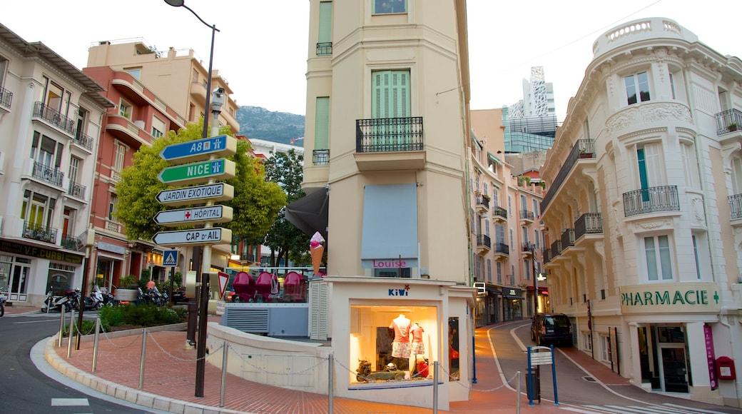 Monaco mettant en vedette ville et patrimoine historique