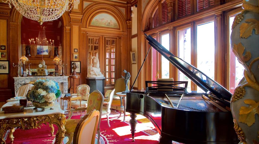 Maison Mantin mit einem Innenansichten und Geschichtliches