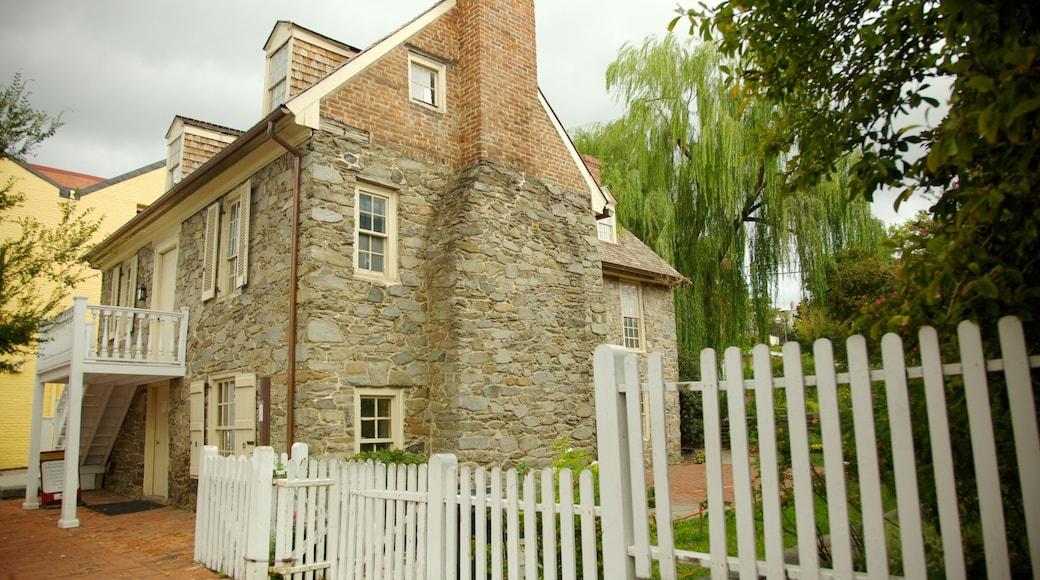 Georgetown mostrando una casa