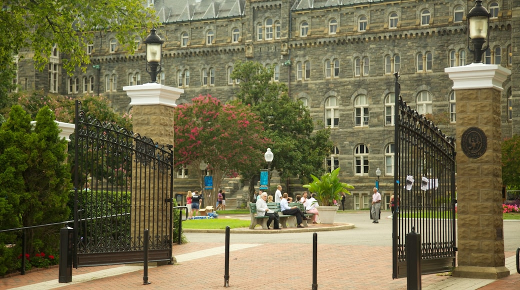 Georgetown mostrando elementos patrimoniales y arquitectura patrimonial
