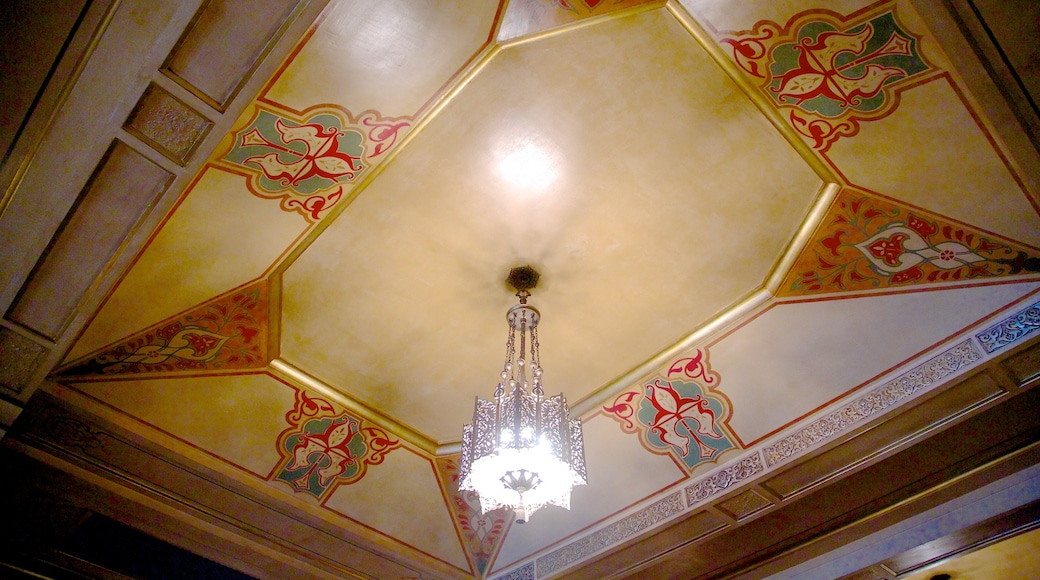 Fox Theatre featuring interior views and theater scenes