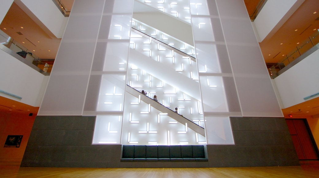 Indianapolis Museum of Art which includes interior views